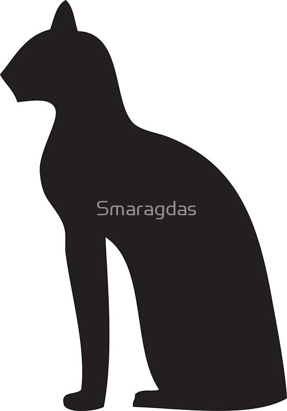 559x800 Egyptian Cat Goddess Bastet Stickers By Smaragdas Redbubble