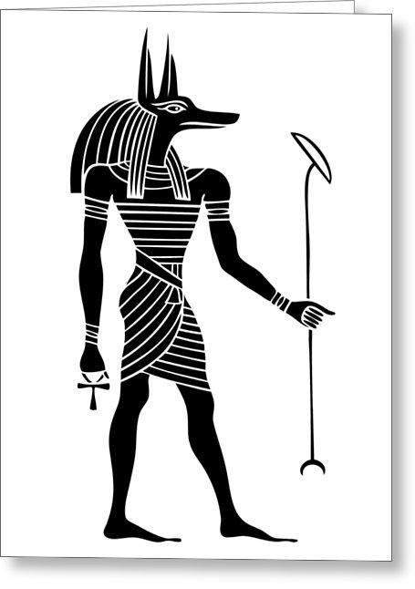 455x646 Ancient Egyptian Mythology Greeting Cards