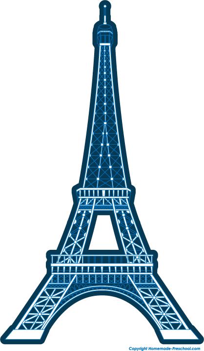 418x718 Eiffel Tower Silhouette Clipart Free Stock Photo Public Domain