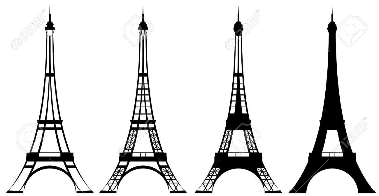 1300x671 Eiffel Tower Clipart Stylized