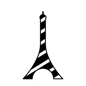 340x340 Free Cliparts Silhouette, Eiffel Tower