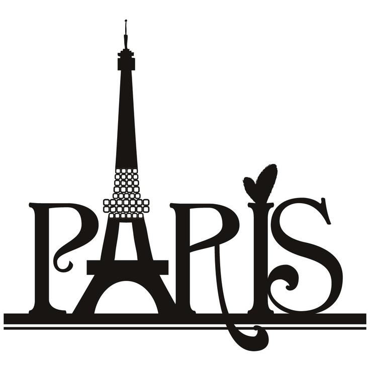 736x736 Eiffel Tower Clipart Silhouette