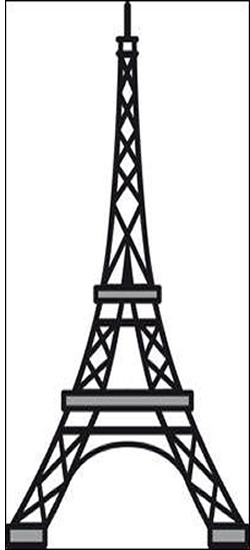 250x550 Eiffel Tower Clipart Images Collection