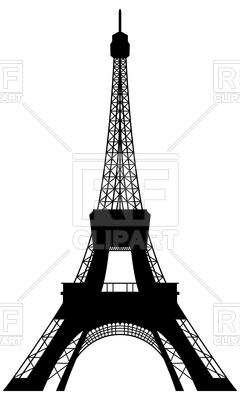 240x400 Eiffel Tower Silhouette