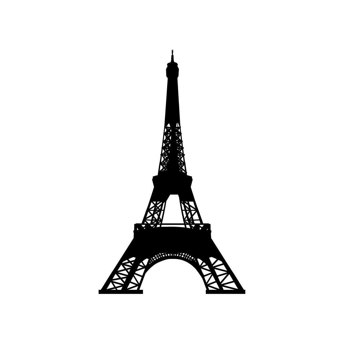 1200x1200 Easy Eiffel Tower Sketch