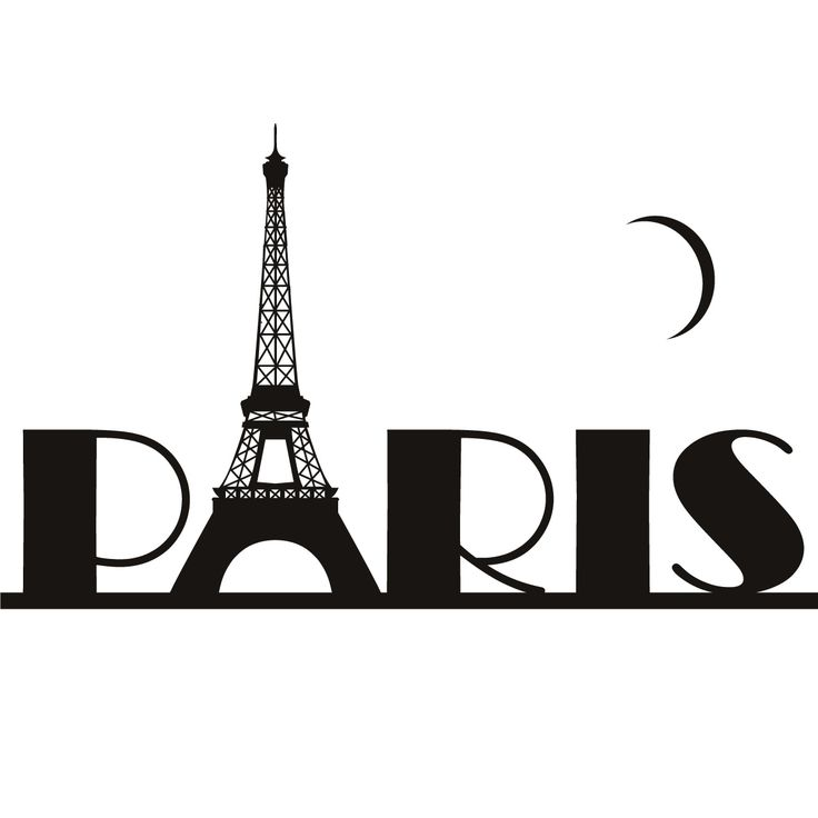 736x736 Eiffel Tower Clipart Love Silhouette Many Interesting Cliparts