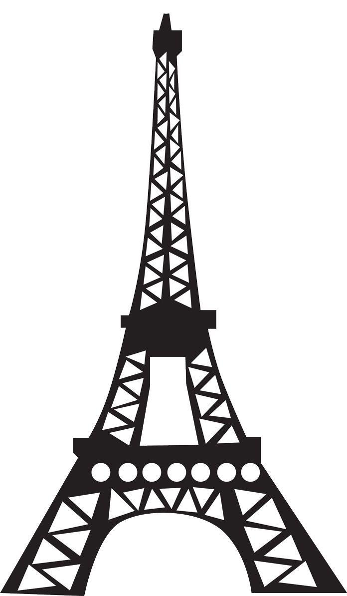 696x1194 Prayforparis Trendwiser News Tower, Silhouettes
