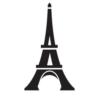 333x313 Eiffel Tower Silhouette Clipart Free Eiffel Tower Clipart
