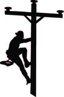 209x317 Electrical Clipart Lineman