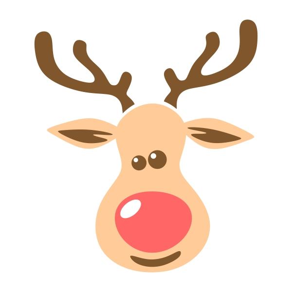 600x600 Reindeer Family Cuttable Design