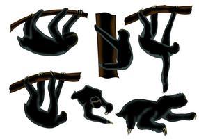 286x200 Animal Silhouettes Free Vector Art