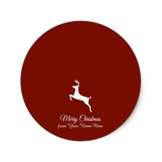 324x324 Elegant Reindeer Silhouette