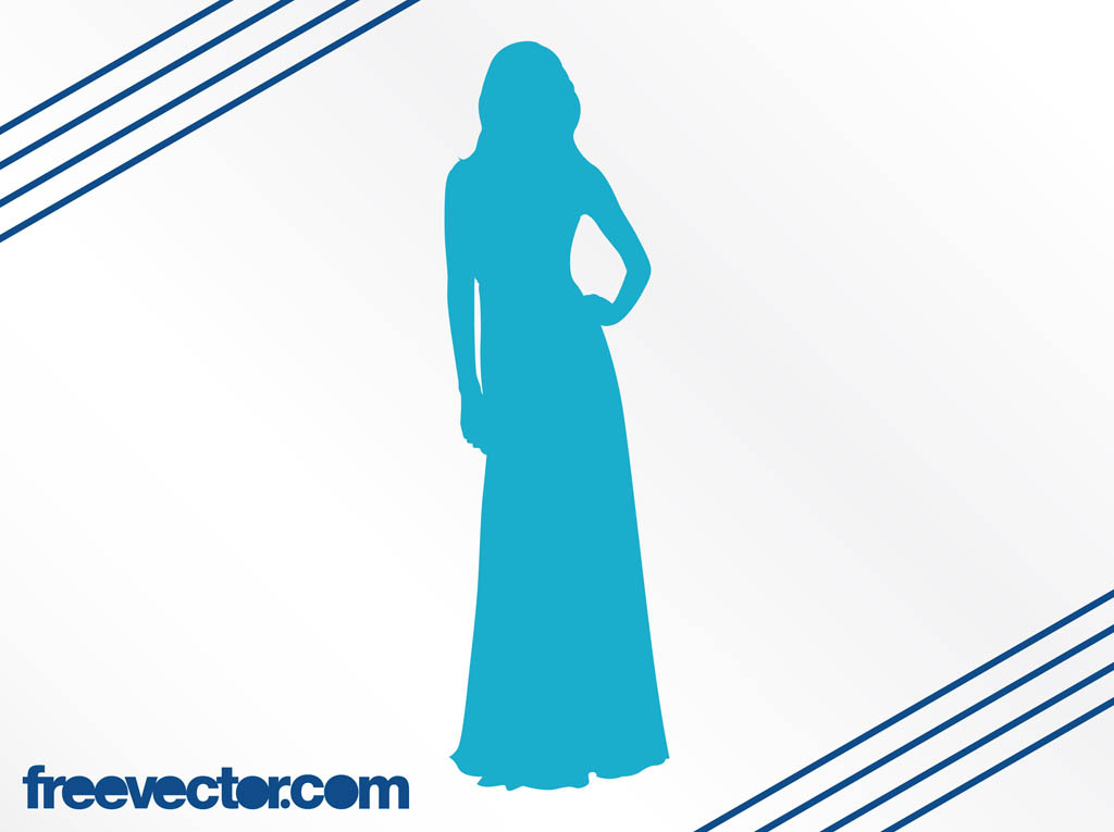 1024x765 Elegant Woman Silhouette Vector Art Amp Graphics