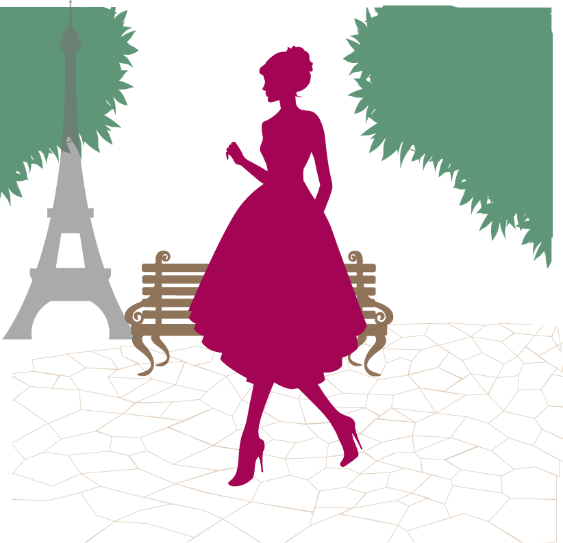 822x793 Paris Photo Silhouette