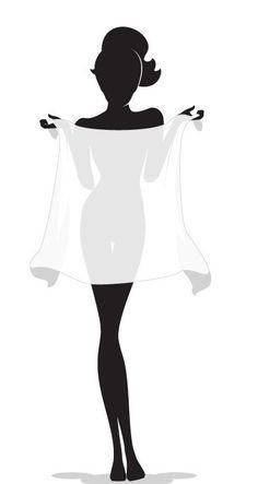 236x443 Silhouette Of A Elegant Woman Silhouette Stencil Vinyl