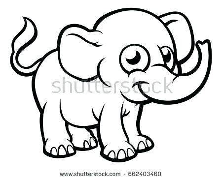 450x366 Also Elephant Head By Van Via Elephant Outline Elephant Face Baby