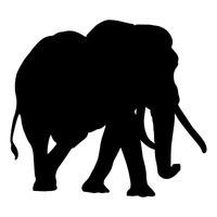 200x200 Elephant Elephants Animal Animals Mammal Mammals Silhouette