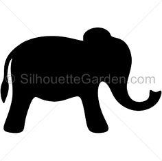 236x234 Elephant Svg, Elephant Monogram, Cute Elephant, Elephant