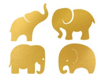 340x270 Baby Elephant Silhouette 2507708