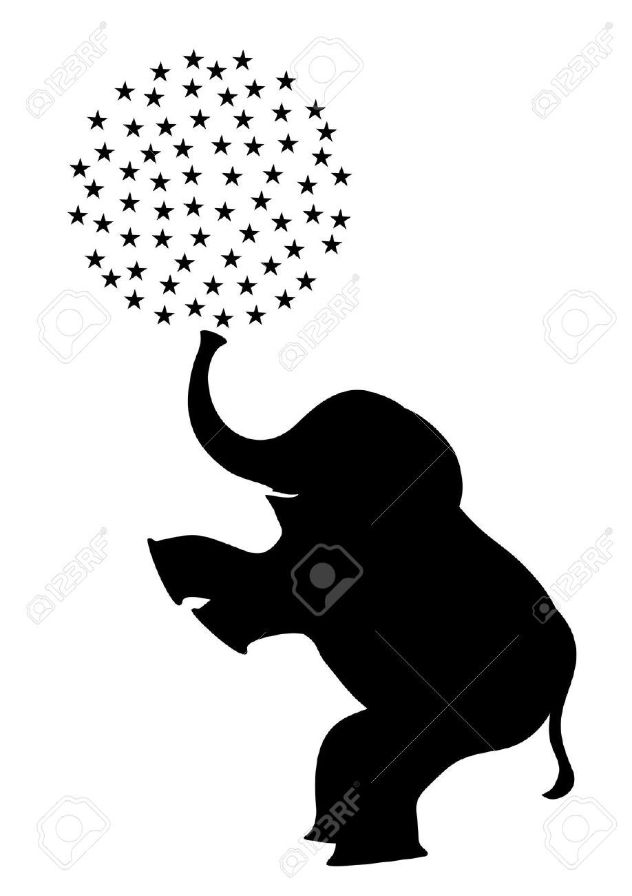 918x1300 Elephant Standing On Two Legs Royalty Free Cliparts, Vectors,