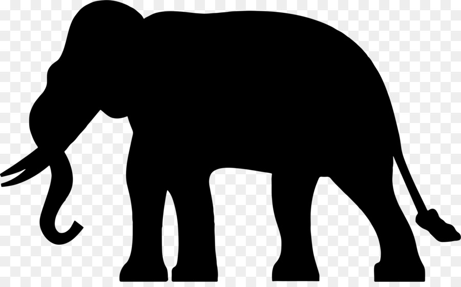 Elephant Silhouette Clipart at GetDrawings | Free download