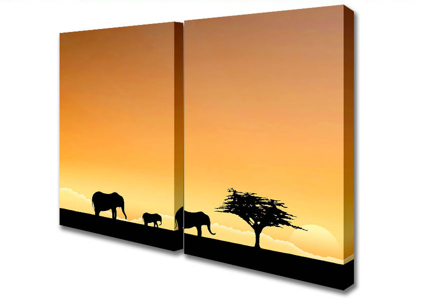 847x598 Search Elephant Canvas