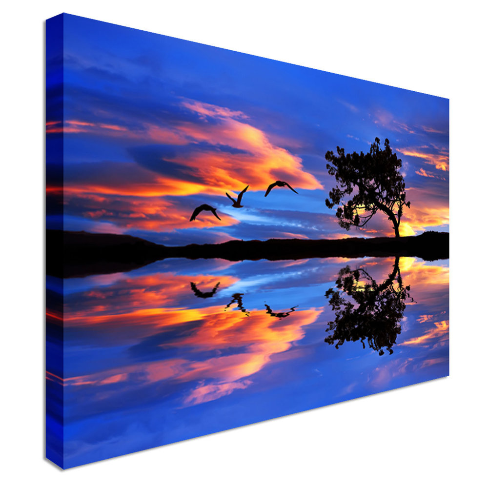 1000x1000 Sunset Prints Canvas Town