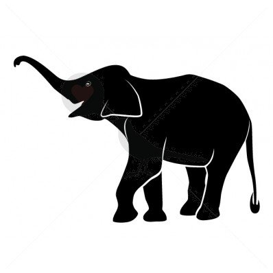398x398 Buy Elephant Silhouette