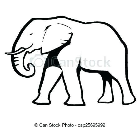 450x412 Elephant Outline Cutouts Google Search Elephant Outline Cutouts