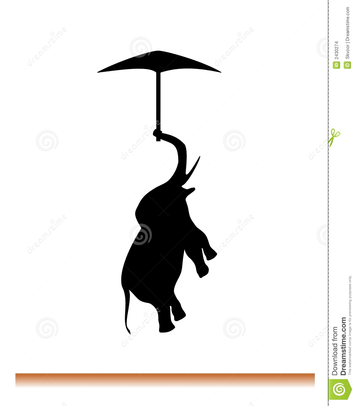 1141x1300 Flying Elephant