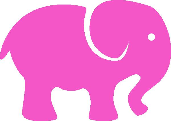 600x427 Simple Elephant Silhouette