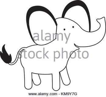349x320 Vector Silhouette Of Black Africa With White Baobab Silhouette