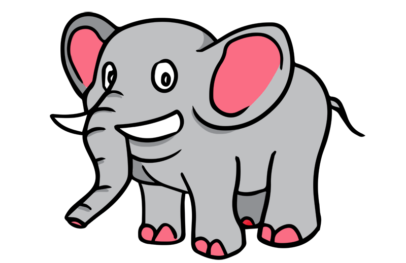 800x519 Elephant Clipart Silhouette Free Clipart Panda