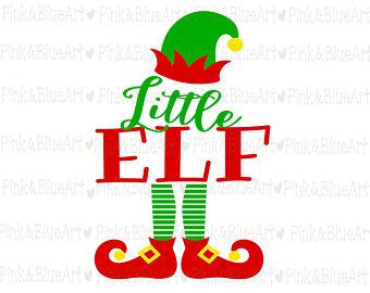 340x270 Mama Elf Svg Santa Svg Clipart Cut Files Silhouette Cameo Svg