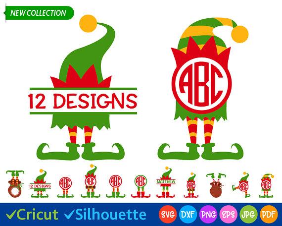 570x456 Elf Svg Elf Legs Svg Christmas Svg Files Elf Hat Svg Elf Clip