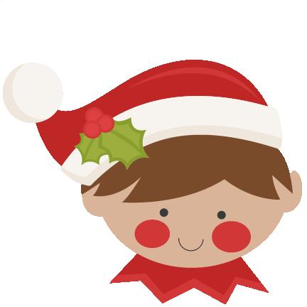 432x432 Christmas Elf Svg Scrapbook Cut File Cute Clipart Files