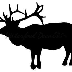 300x300 Elk Hunting Decals And Elk Hunting Stickers