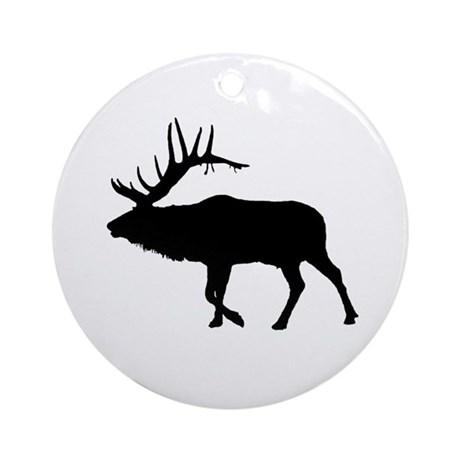460x460 Elk Ornaments