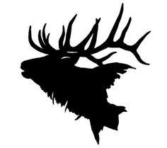 236x209 Elk Clipart Silhouette