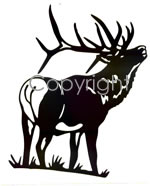 150x186 Silhouette Hunting Decals Amp Stickers