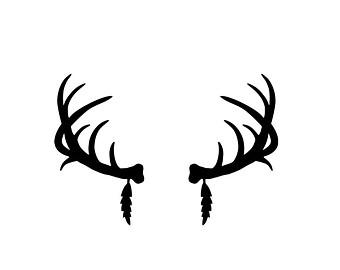 340x270 Wildlife Clipart Elk Horn