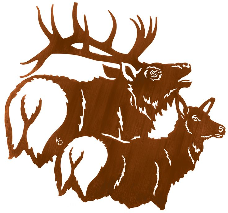 736x688 26 Best Elk Wall Art Images On Metal Wall Art, Metal