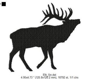 340x270 Elk silhouette Etsy