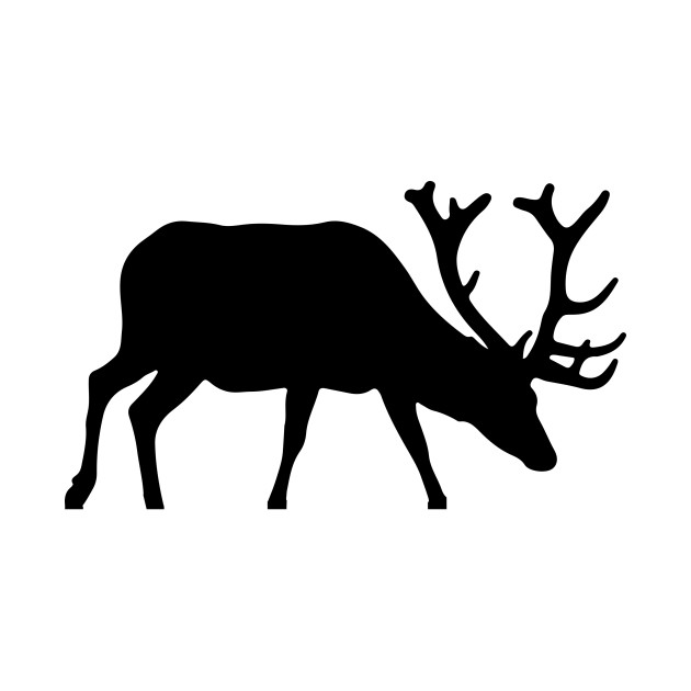630x630 Limited Edition. Exclusive Elk Silhouette