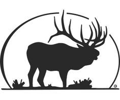 236x196 Elk Silhouette Tattoo But Have The Back White Space Look Like