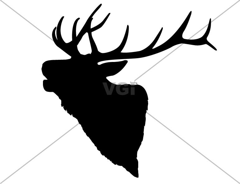 771x591 Elk Antler Drawing Pattern Use These Free Images For Your