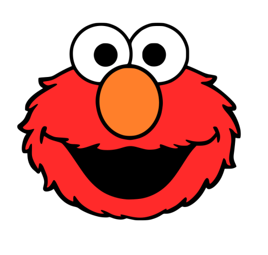527x500 Crafting With Meek Elmo's Face Svg Silhouette