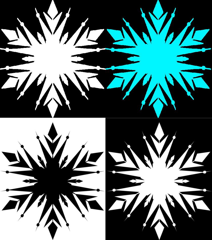 839x952 Frozen Snowflake Free By Akili Amethyst