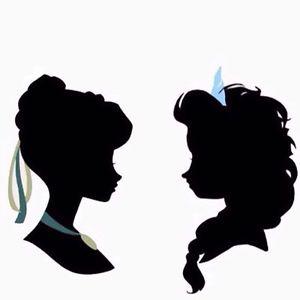 Elsa Head Silhouette