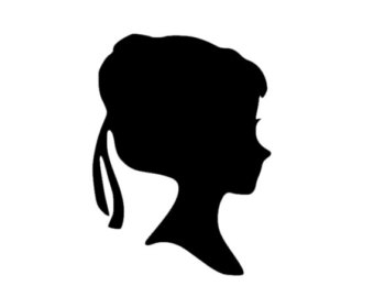 elsa head coloring pages | Elsa Head Silhouette at GetDrawings.com | Free for ...